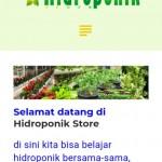 aplikasi android hidroponik kecil