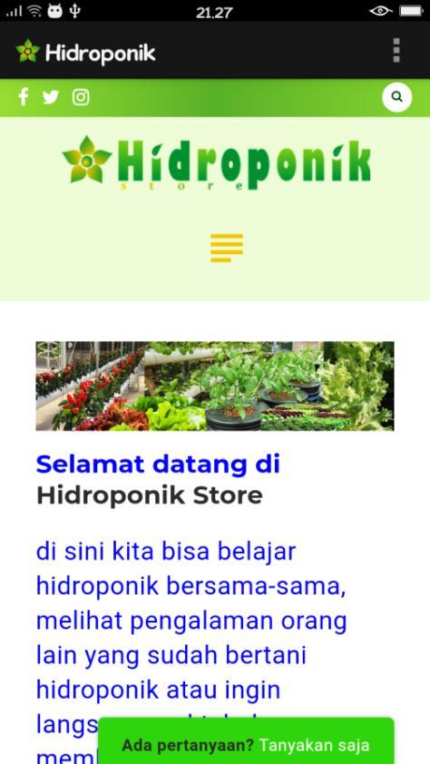 screenshot aplikasi android